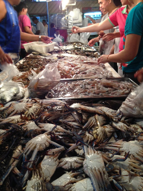 カルティマの魚市場
