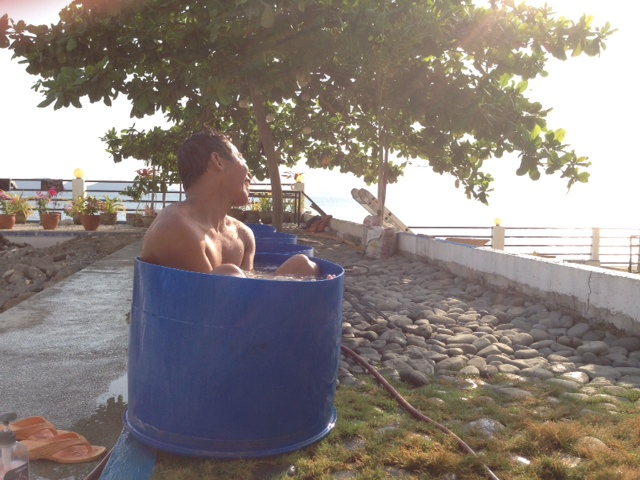 フィリピン人と風呂