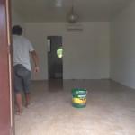 GW後の部屋の床張替え、2部屋目完了