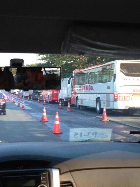 SLEXプチ渋滞
