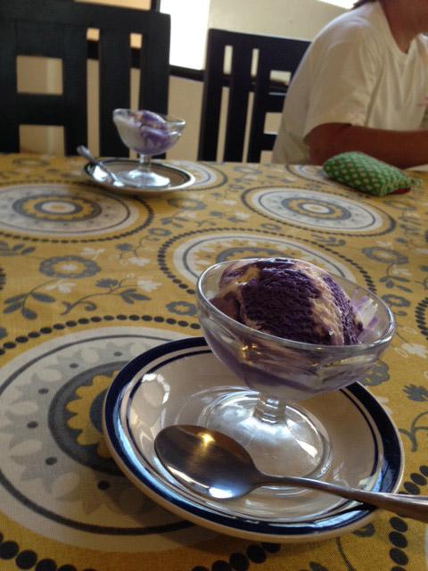 ハロハロ味アイス