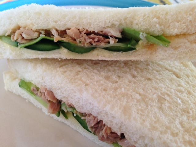 明日葉のサンドイッチ