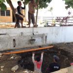 浄化槽の穴