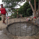 水タンク土台