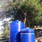 水タンク設置場所