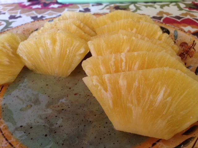 超甘いパイナップル