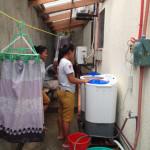 リネン洗い場