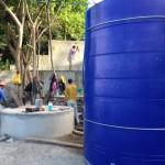 新しい水タンク