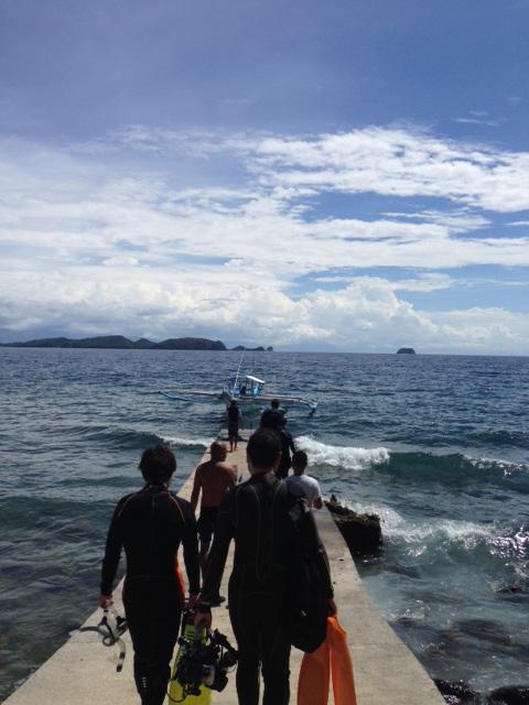 アニラオ午後の海