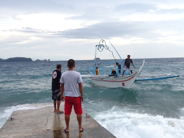 午後バンカーボート