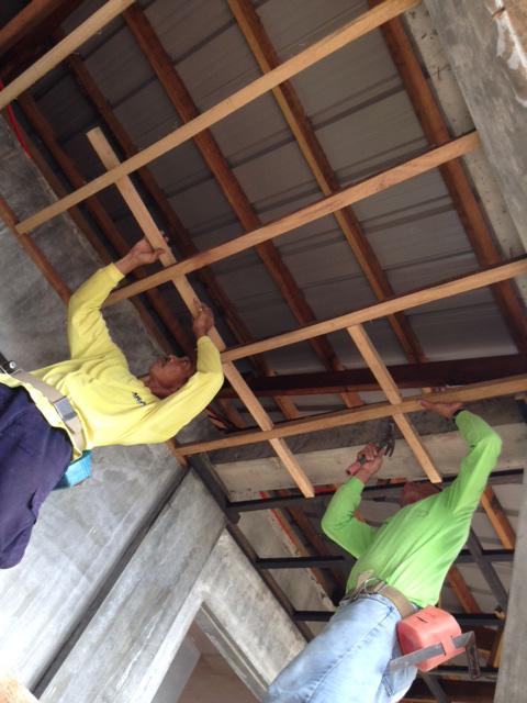 2階廊下天井