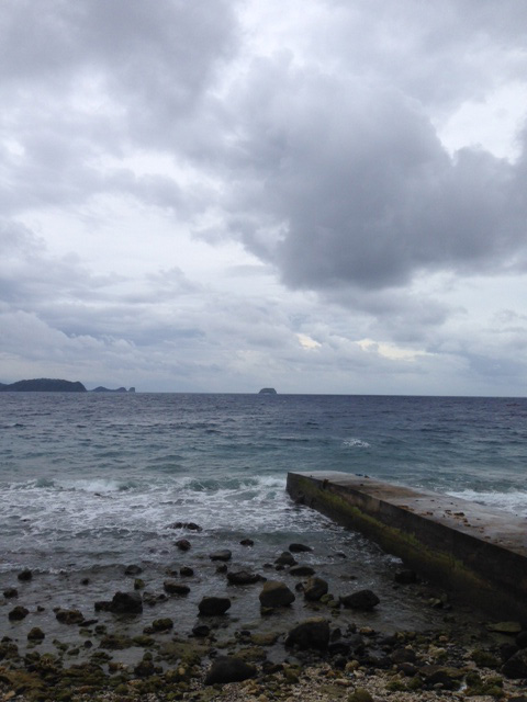 アニラオ午前の海