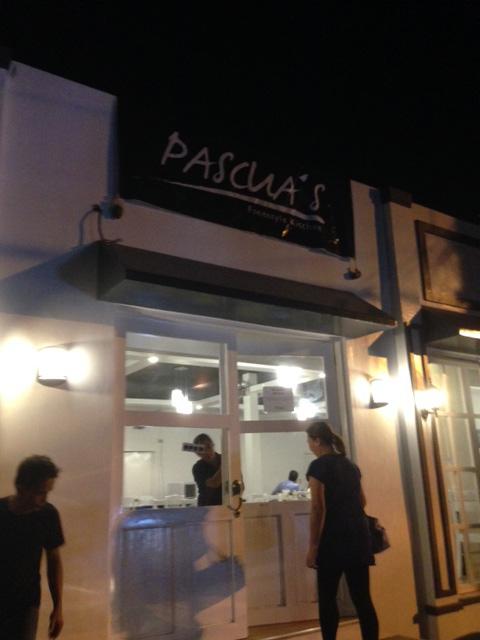 バワンの新しいレストラン