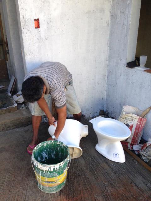 フィリピンローカルトイレ
