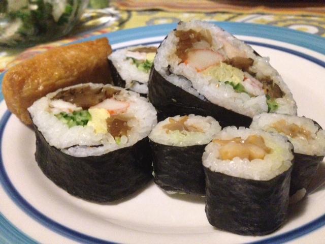 寿司つむらの太巻き