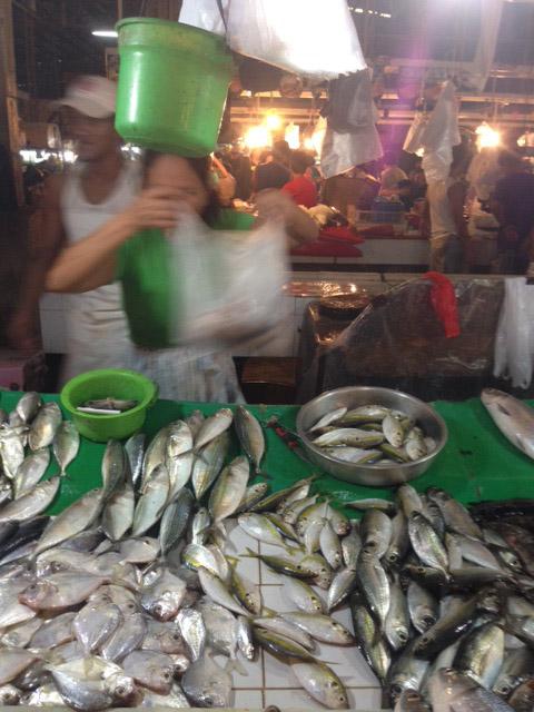 カルティマール魚市場