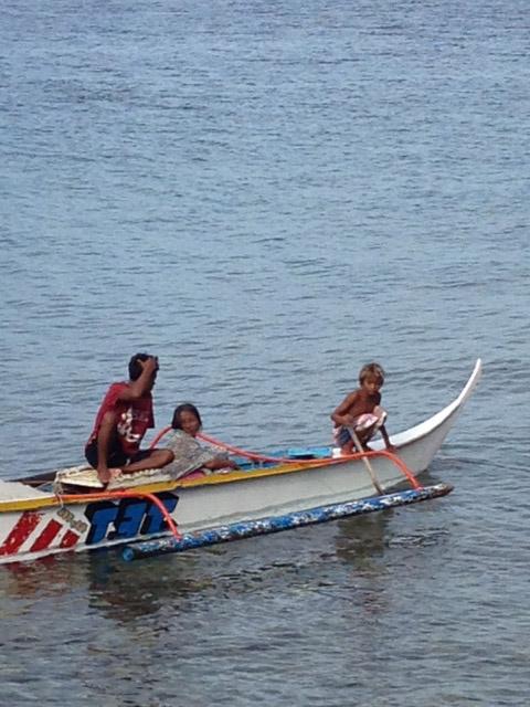シーサー三浦フィリピンに子ども