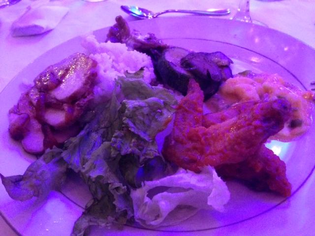 アイヤナールの夕食ビュッフェ