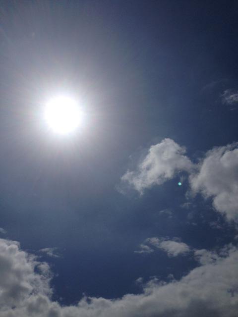 アニラオの太陽