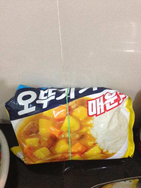 韓国産カレーパウダー