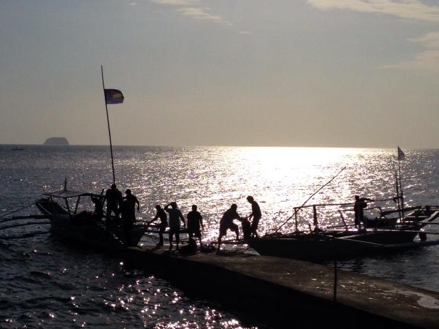 フィリピンの夕刻