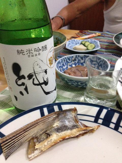 クサヤと日本酒