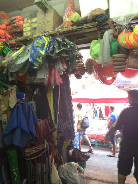 デビソリアの漁具屋