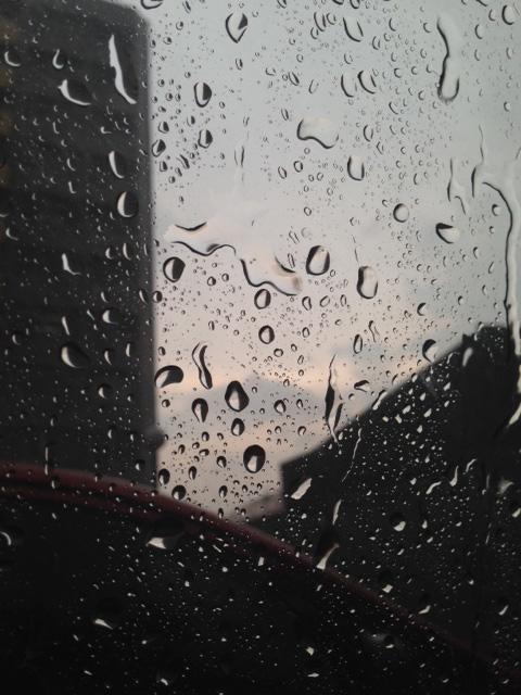 キアポで雨