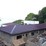 6日。屋根完成。