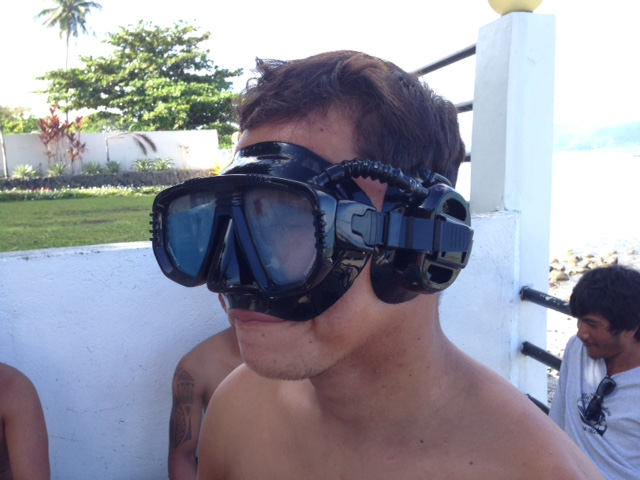 IST PROEAR DIVING MASK