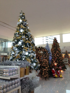 9月のクリスマスツリー