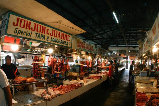 タール市場肉屋