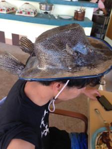 リアルさかなクン帽子