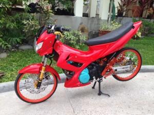 ロナルドのバイク