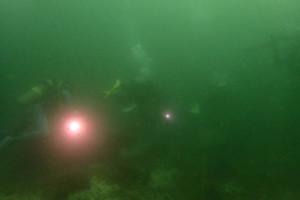 アニラオの濁り海