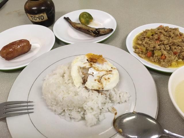バタンガストヨタの社食飯