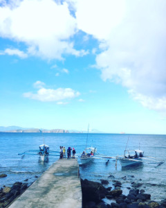 アニラオの午前の海