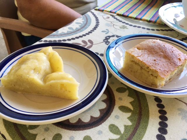 アニラオのバナナケーキ