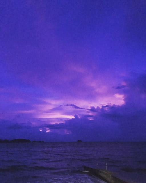 アニラオの夕焼け