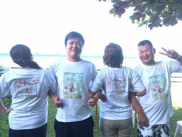 アニラオヴィラマグダレナ3周年記念シャツ