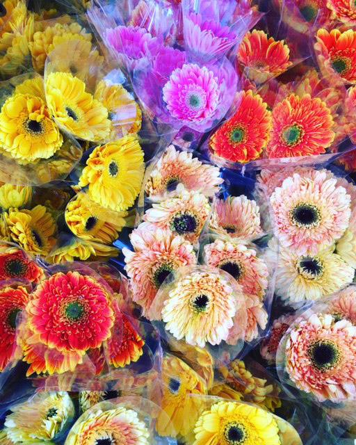 マニラ花市場