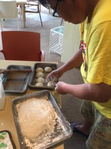 フィリピンで餅つき