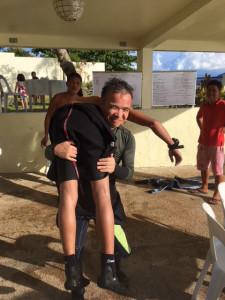 マニラレスキューダイバートレーニング