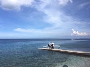 アニオの午前の海
