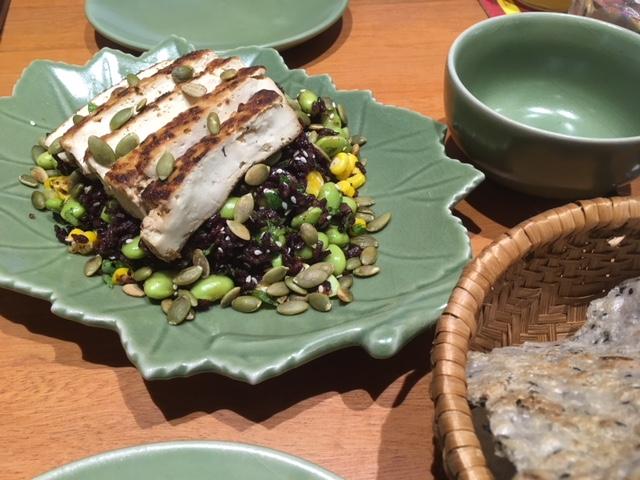 枝豆ライスサラダ