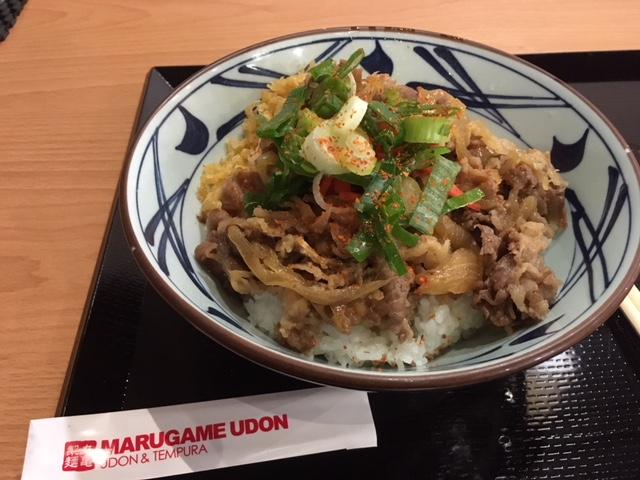 マニラ丸亀うどん牛丼