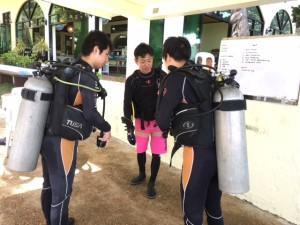 マニラオープンウォーターダイバートレーニング