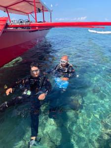 マニラ体験ダイビング
