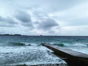 アニラオの午後の海