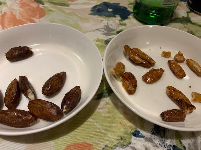 ピリナッツとガリップナッツ